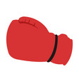 boxing glove isolated vector image