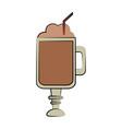 coffee beverage icon image vector image