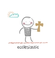 ecclesiastic vector image vector image