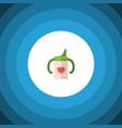 isolated infant nutrition flat icon nursing vector image