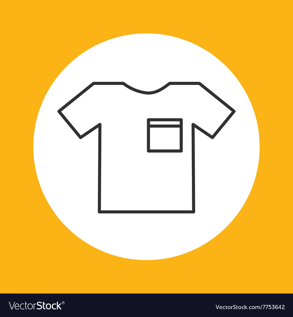 Tshirt icon design vector