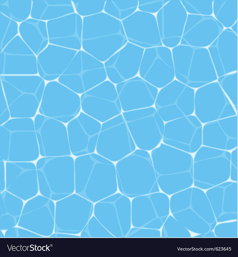 Pool water texture vector