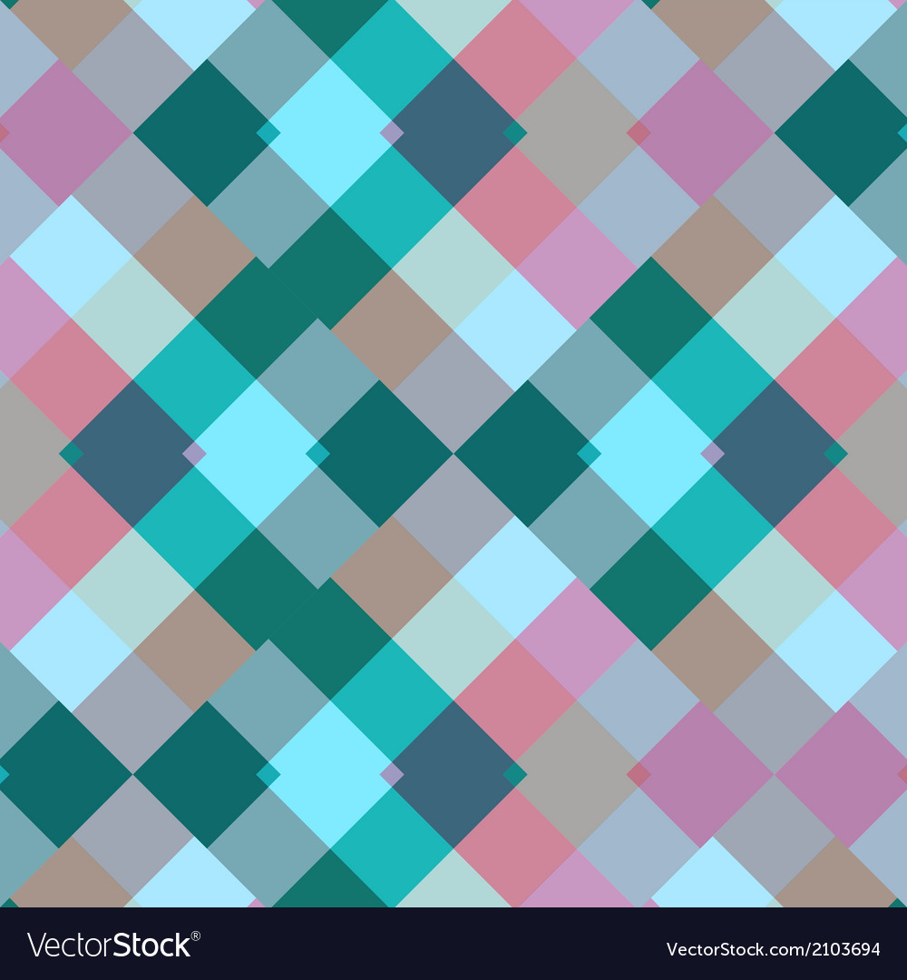 Colorful seamless pattern geometric vector