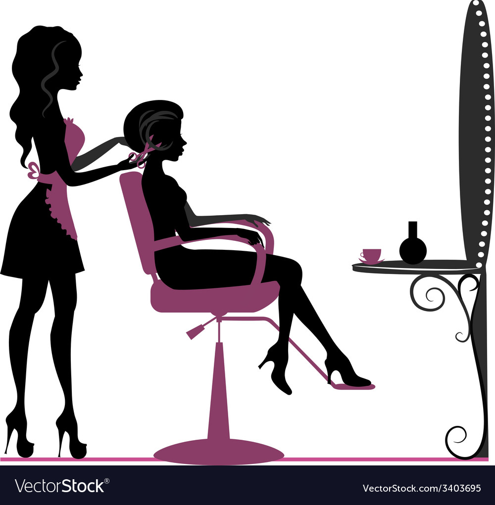 Beauty salon vector