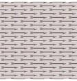 Vintage arrow pattern vector image