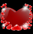 a romantic prelude of heart vector image