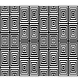 Abstract Square Bases Black and White Seamless vector image