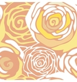 Seamless pattern with stylized roses vector image