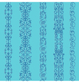 Straight lace set pattern vector image vector image