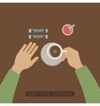 Coffee break vector image