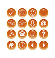 buttonset vector image
