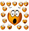 Hazelnut cartoon vector image