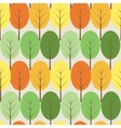 trees seamless pattern vector image