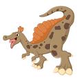 dinosaur posing vector image