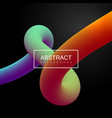 liquid fluid color path vector image