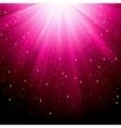 luminous rays vector image