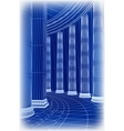 Column architecture vector image