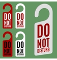 Door hanger vector image