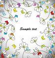 daisy web vector image vector image