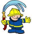 fireman vector image vector image