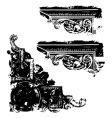 grunge scrap vector image