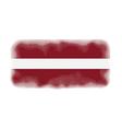 latvia flag halftone vector image vector image