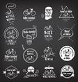 Bike rental design concept vector image