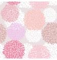 Cute unique floral pattern vector image