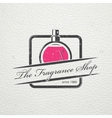 The Fragrance Shop Exclusive boutique with vector image