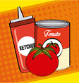 tomato product vector image