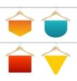 Hanger Sale Banner Set vector image vector image