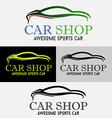 Car Shop Logo vector image