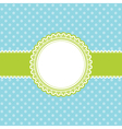 easter themed background vector image vector image