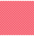 checkered red and white abstract seamless pattern vector image