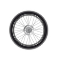 mountain bike wheel vector image