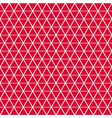 Seamless pattern of small triangles vector image