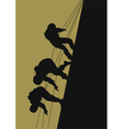 Soldiers of the special setting vector image