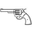 handgun vector image vector image