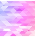Colorful pink violet polygonal background vector image