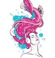 music fantasy vector image