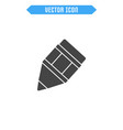 pencil flat icon vector image