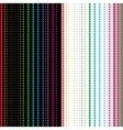 Seamless patterns in dotted strip vector image