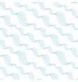 Diagonal abstract waves seamless pattern vector image