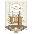 beer king vector image
