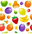fruit background seamless vector image