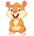 Cute mice cartoon vector image