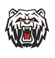 Angry Bear vector image vector image
