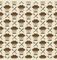chef seamless pattern design - kitchen seamless vector image