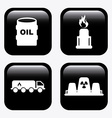 gas industry design vector image