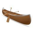 Canoe 01 vector image